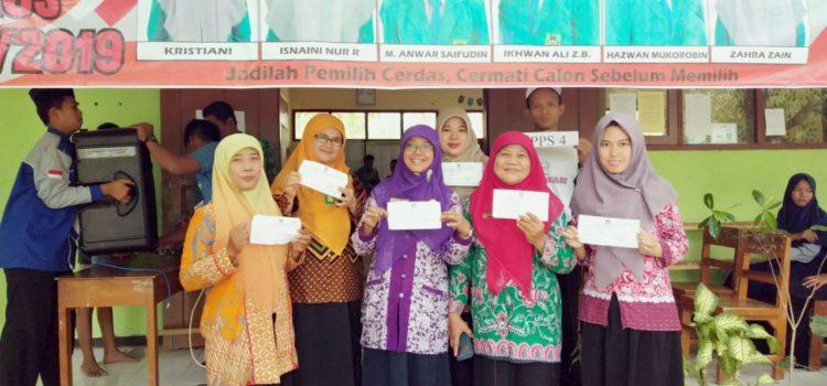 Ajarkan Demokrasi, Pemilihan Ketua OSIS MTsN 4 Ponorogo Layaknya Pemilu