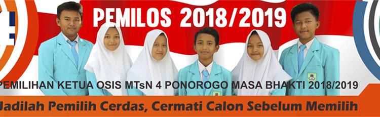 Pemilos MTsN 4 Ponorogo, Ajarkan Demokrasi Sejak Dini